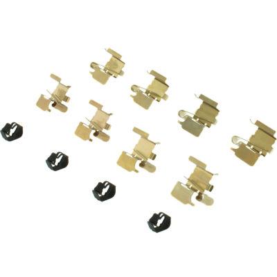 Posi Quiet Semi-Metallic Brake Pads with Hardware , Posi Quiet 104.12100