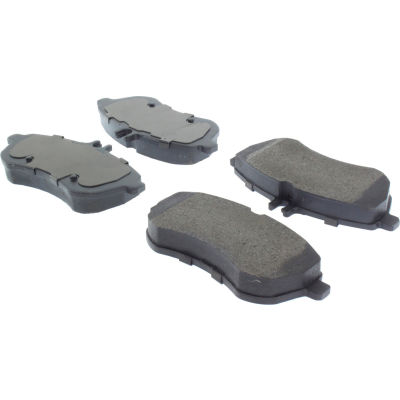 Posi Quiet Semi-Metallic Brake Pads with Hardware , Posi Quiet 104.13400