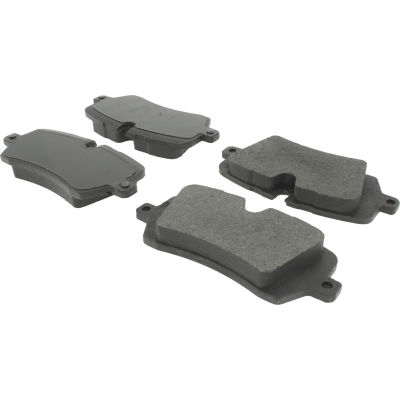 Posi Quiet Semi-Metallic Brake Pads with Hardware , Posi Quiet 104.16920