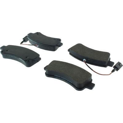 Posi Quiet Semi-Metallic Brake Pads with Hardware , Posi Quiet 104.17461