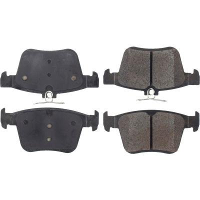 Posi Quiet Semi-Metallic Brake Pads with Hardware , Posi Quiet 104.17610