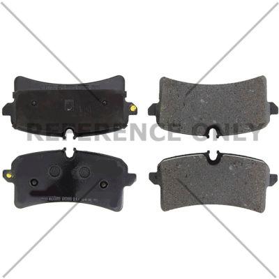 Posi Quiet Semi-Metallic Brake Pads with Hardware , Posi Quiet 104.17800