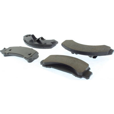Posi Quiet Ceramic Brake Pads with Shims and Hardware , Posi Quiet 105.03870