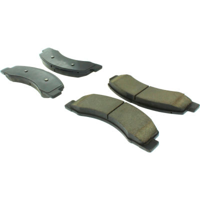 Posi Quiet Ceramic Brake Pads with Shims and Hardware , Posi Quiet 105.07560
