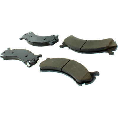 Posi Quiet Ceramic Brake Pads with Shims and Hardware , Posi Quiet 105.07840