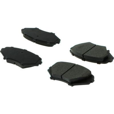 Posi Quiet Ceramic Brake Pads with Shims and Hardware , Posi Quiet 105.10090