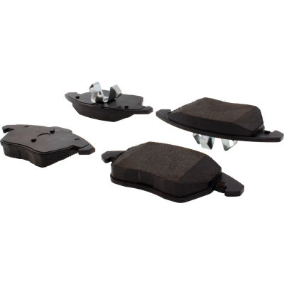 Posi Quiet Ceramic Brake Pads with Shims and Hardware , Posi Quiet 105.11072