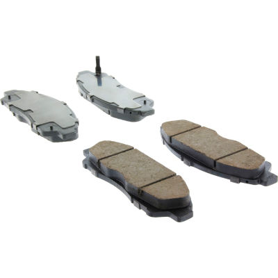 Posi Quiet Ceramic Brake Pads with Shims , Posi Quiet 105.13781