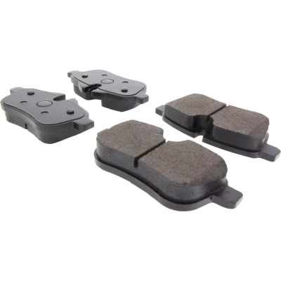 Posi Quiet Ceramic Brake Pads with Shims and Hardware , Posi Quiet 105.14330