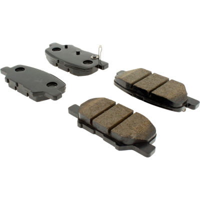Posi Quiet Ceramic Brake Pads with Shims and Hardware , Posi Quiet 105.16790