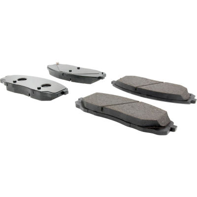 Posi Quiet Ceramic Brake Pads with Shims and Hardware , Posi Quiet 105.18140