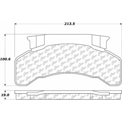 Posi Quiet Extended Wear Brake Pads with Shims and Hardware , Posi Quiet 106.02240