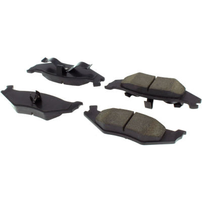 Posi Quiet Extended Wear Brake Pads with Shims and Hardware , Posi Quiet 106.05120