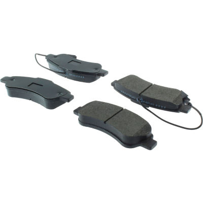 Posi Quiet Extended Wear Brake Pads with Shims , Posi Quiet 106.14901