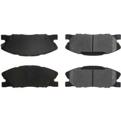 Posi Quiet Extended Wear Brake Pads with Shims and Hardware , Posi Quiet 106.17670