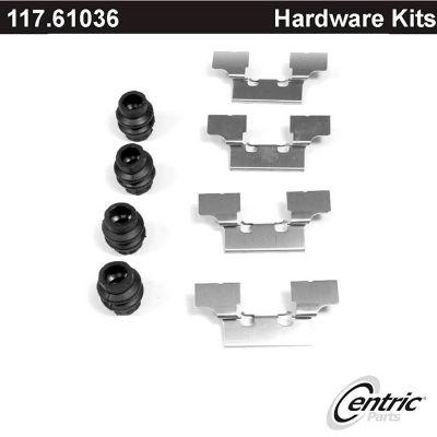 Centric Disc Brake Hardware Kit, Centric Parts 117.61036