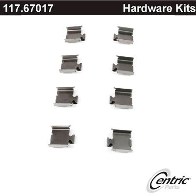Centric Disc Brake Hardware Kit, Centric Parts 117.67017