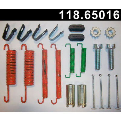 Centric Parking Brake Drum Hardware Kit, Centric Parts 118.65016