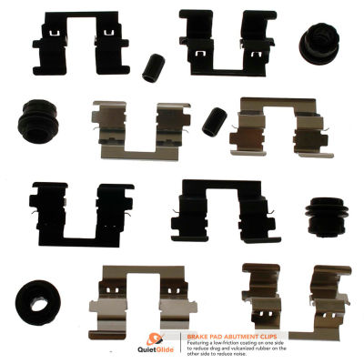 Carlson Disc Brake Hardware Kit H5916Q