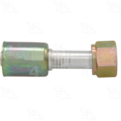 Straight Female Standard O-Ring A/C Fitting w/o Service Port - Four Seasons 14010