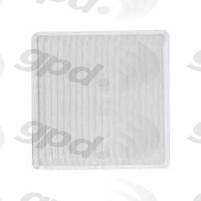 Cabin Air Filter, Global Parts 1211239