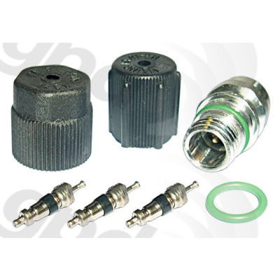 A/C System Valve Core and Cap Kit, Global Parts 1311422