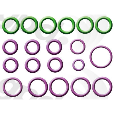 A/C System O-Ring and Gasket Kit, Global Parts 1321350