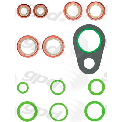 A/C System O-Ring and Gasket Kit, Global Parts 1321375