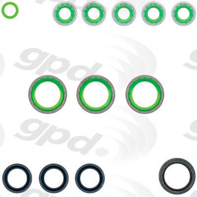 A/C System O-Ring and Gasket Kit, Global Parts 1321399