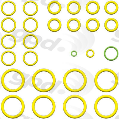 A/C System O-Ring and Gasket Kit, Global Parts 1321401