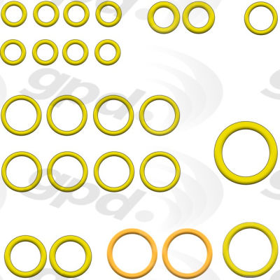 A/C System O-Ring and Gasket Kit, Global Parts 1321404