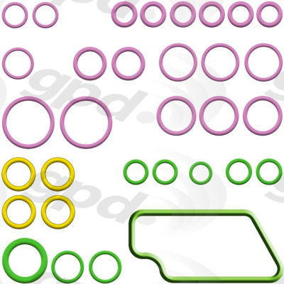 A/C System O-Ring and Gasket Kit, Global Parts 1321409