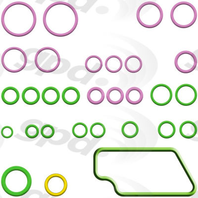 A/C System O-Ring and Gasket Kit, Global Parts 1321410