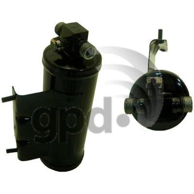 A/C Receiver Drier, Global Parts 1411500