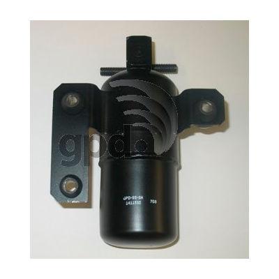 A/C Receiver Drier, Global Parts 1411532