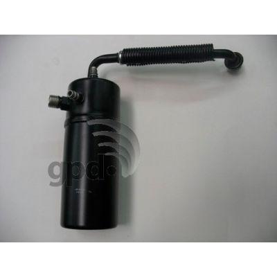 A/C Accumulator, Global Parts 1411620