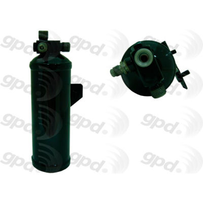 A/C Receiver Drier, Global Parts 1411790