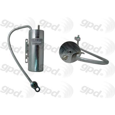 A/C Receiver Drier, Global Parts 1411900