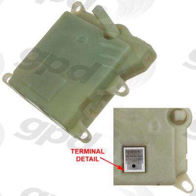 HVAC Blend Door Actuator, Global Parts 1711893