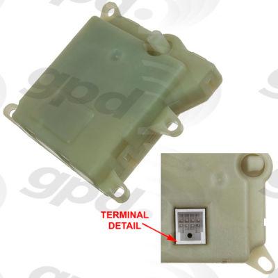 HVAC Blend Door Actuator, Global Parts 1711901