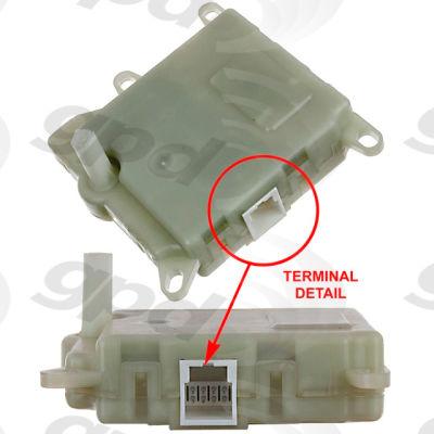 HVAC Blend Door Actuator, Global Parts 1711908