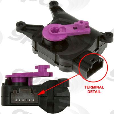 HVAC Blend Door Actuator, Global Parts 1712284