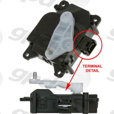 HVAC Blend Door Actuator, Global Parts 1712325