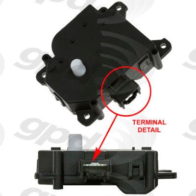 HVAC Blend Door Actuator, Global Parts 1712329
