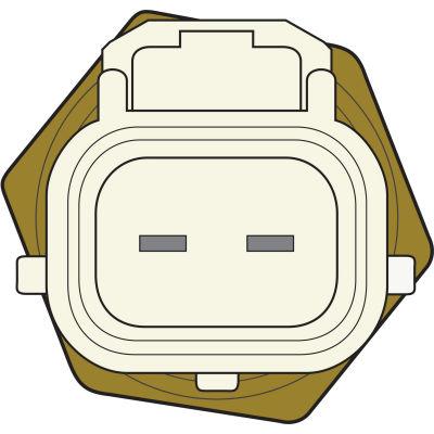 Engine Coolant Temperature Sensor, Global Parts 1712564