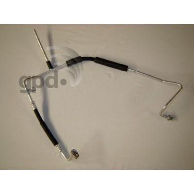 A/C Refrigerant Liquid Hose, Global Parts 4811259