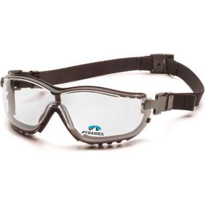 V2g Readers™ Eyewear +2.0 Clear Lens , Black Strap/Temples - Pkg Qty 6