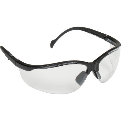 V2 Readers® Eyewear Clear +1.5 Lens , Black Frame