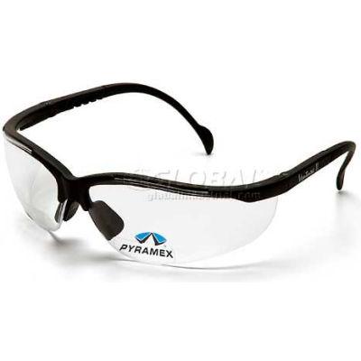 V2 Readers® Eyewear Clear +3.0 Lens , Black Frame