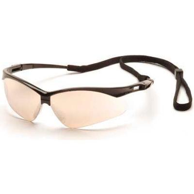 Pmxtreme™ Eyewear Io Mirror Lens , Black Frame & Cord